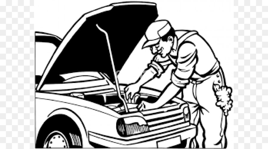 for Mechanic coloring pages
