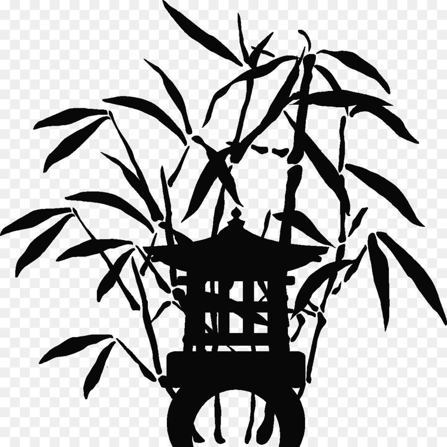 Bambou-Aufkleber-Wandtattoo-Pflanze-Stiel Clip-art - Shan Shui png ...