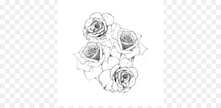 Tattoo Drawing Rose Flash Image Rose Png Download 768 432 Free