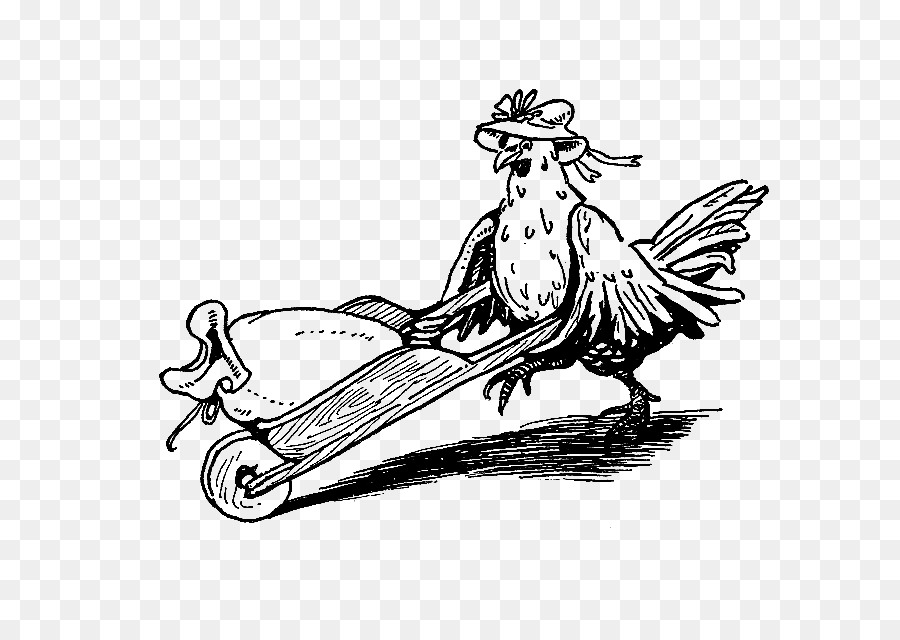 Pollo a La Pequeña Gallina Roja en blanco y Negro imágenes ...