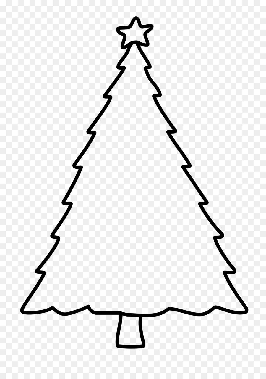 Árbol de navidad para Colorear libro de Dibujo del Día de Navidad ...