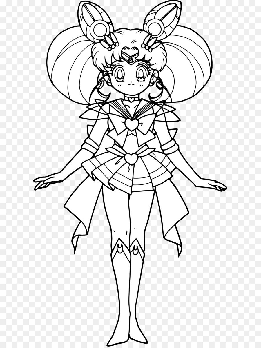 Chibiusa Sailor Moon Latias Libro Da Colorare Disegno Piccolo