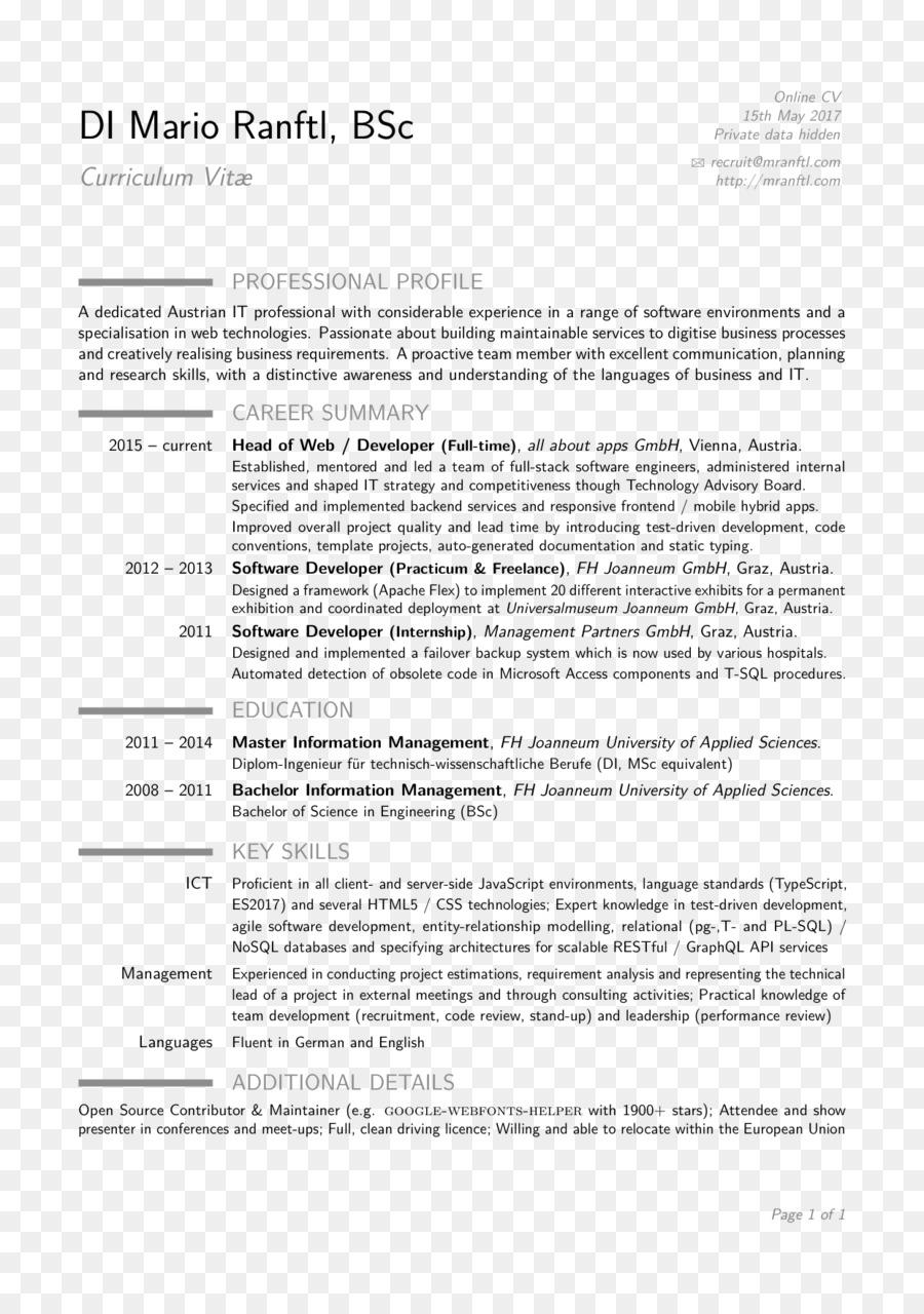 Documento De La Línea De - plantilla del cv png dibujo ...