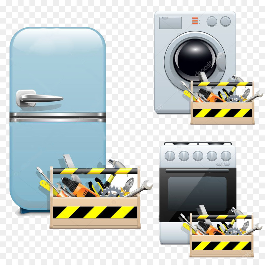 Home Appliance Yellow Png Download 1024 1024 Free