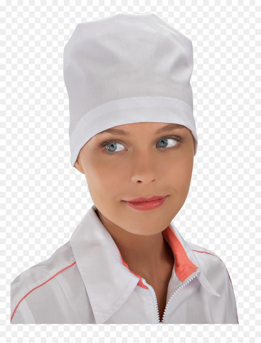 reputable site 893ed 37ca6 Weiße Strickmütze Kopfbedeckung Service für Berufsbekleidung ...