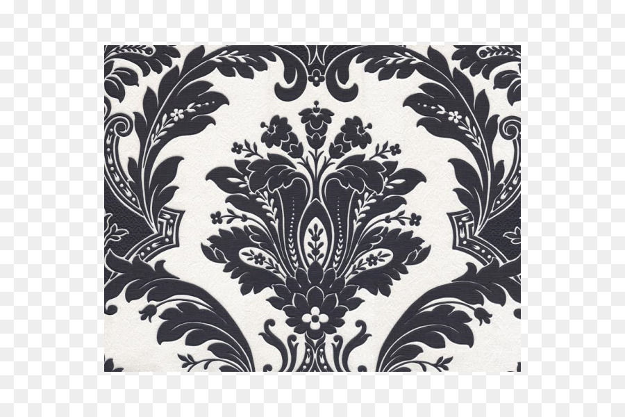 Desktop Wallpaper Paisley Design Black And White