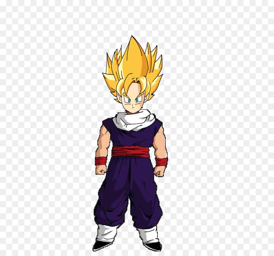 Goten Gohan Super Saiyan Costume Mascot Goku Más Vegeta Png
