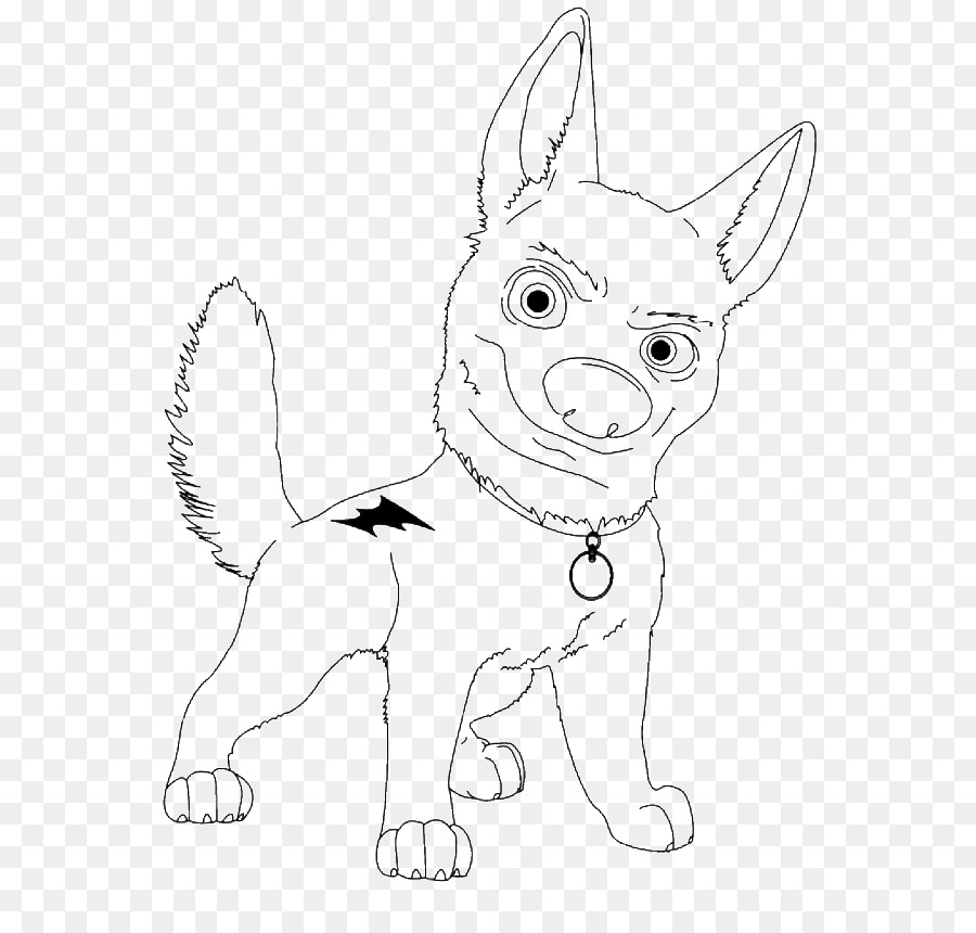 Bolt Coloring Book Dog Colouring Pages Drawing Mr Peabody