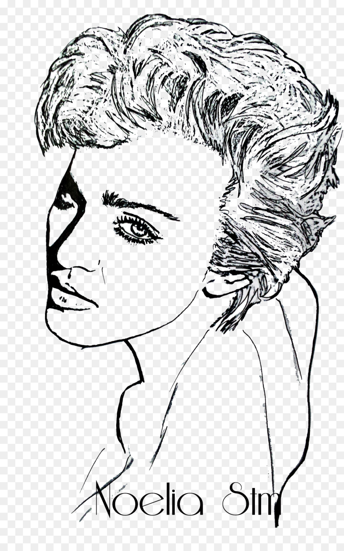 Drawing Dibujos A Lapiz Clip Art Illustration Marilyn Monroe Png