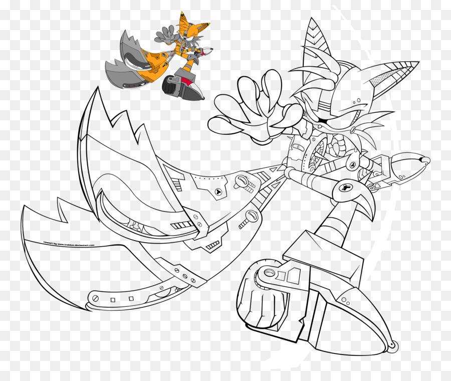Sonic Chaos Colas de Sonic Colors libro para Colorear Knuckles el ...