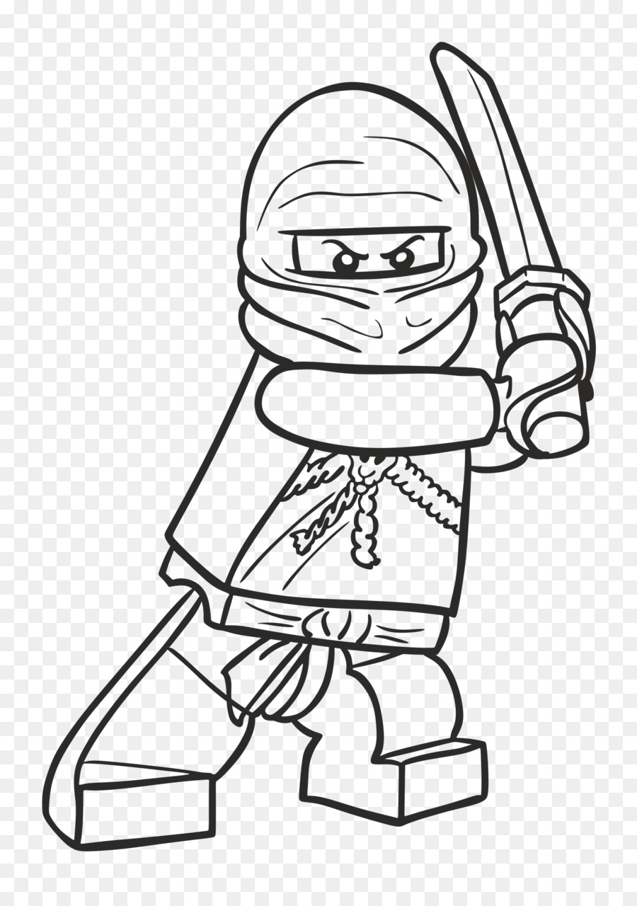 Lloyd Garmadon Buku Mewarnai Gambar Ninja Lego Ninja Unduh Putih