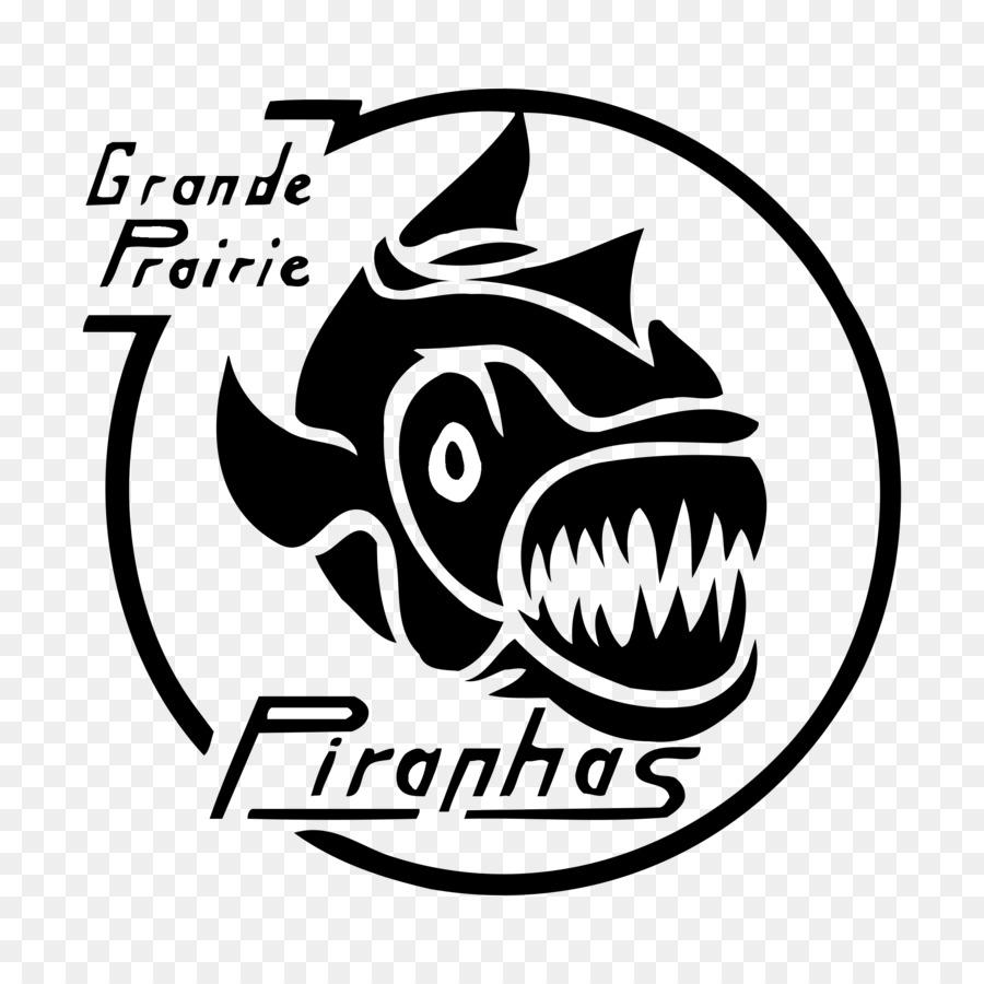 Logotipo de gráficos Vectoriales de Grande Prairie Pirañas Nadar ...