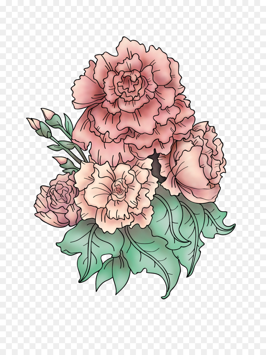 Carnation Tattoo Artist Drawings For Tattoos Design Design Png