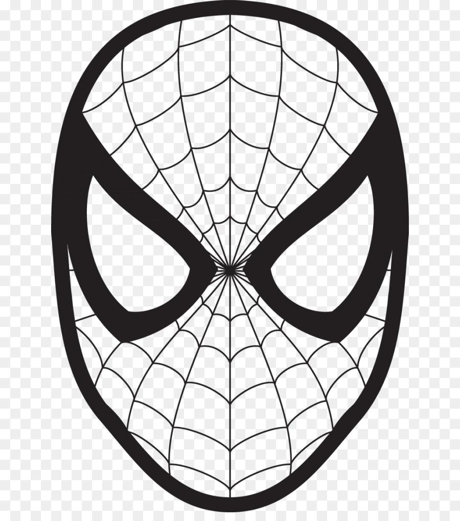 Spider-Man Coloring book Mask Venom Child - spider-man png download ...
