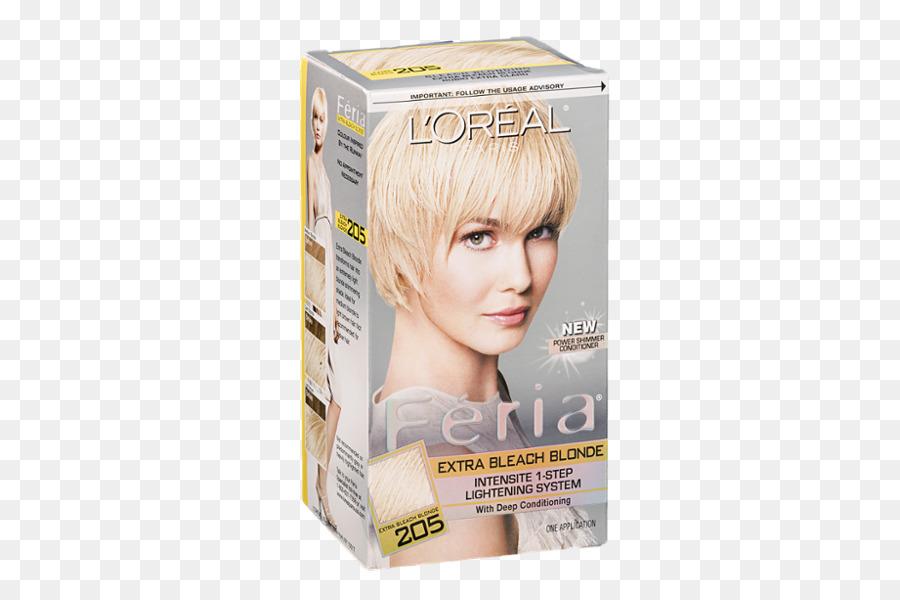 Blonde Hair coloring Bleach Human hair color von l \' Oréal ...