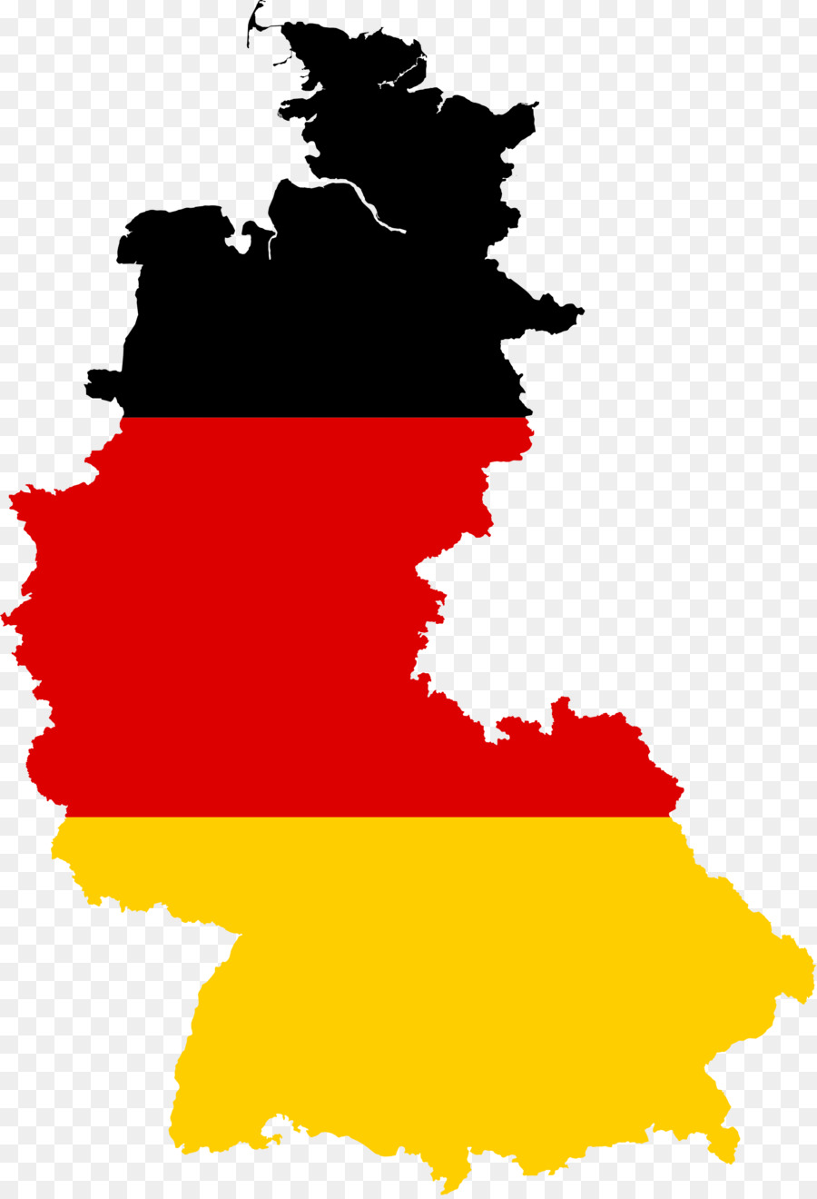 West Germany East Germany German Reunification Flag Of Germany