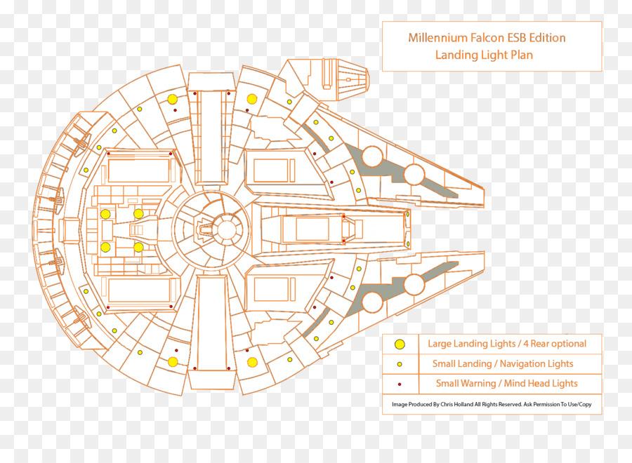 Han Solo Millennium Falcon Star Wars Lighting Portable Network