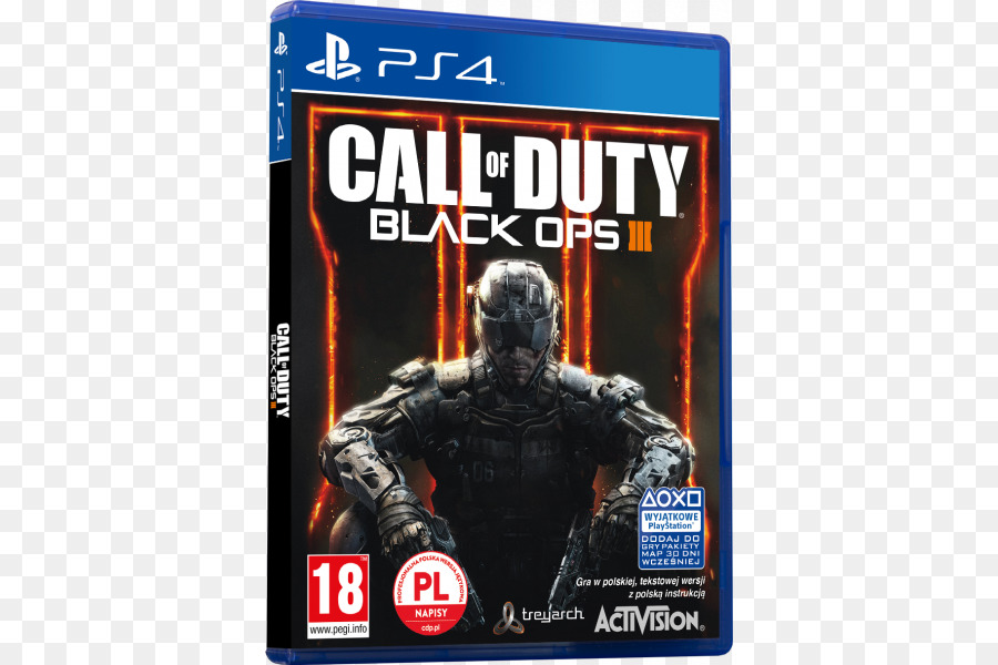 Call Of Duty Black Ops Iii Pc Game png download - 600*600
