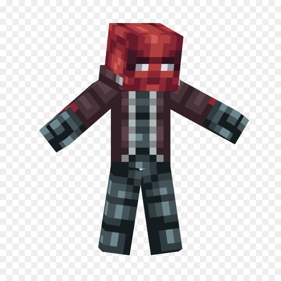 Minecraft Pocket Edition Nightwing Red Hood Batman Arkham Knight - Skins para minecraft pe de batman