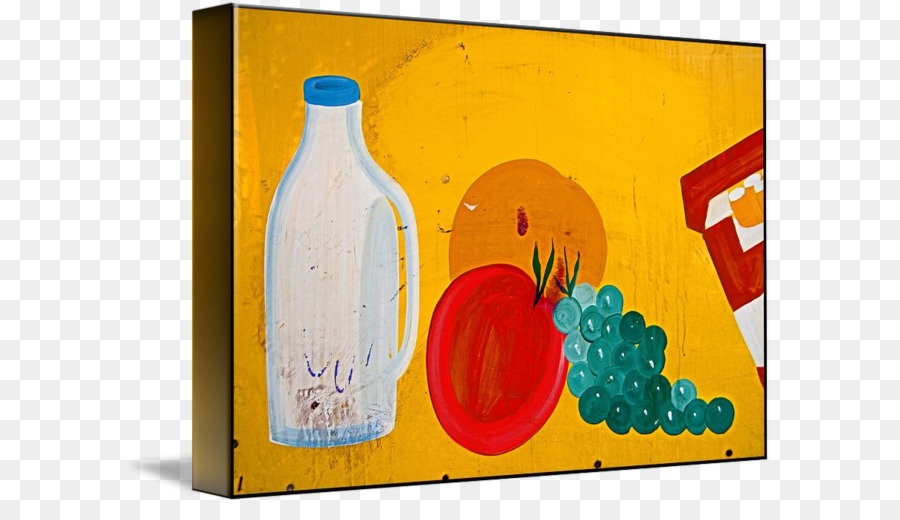 Glass Bottle Still Life Photography Acrylic Paint Picture Frames