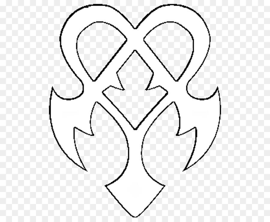 Clip Art M02csf Drawing Petal Line Art Death Eaters Symbol Png