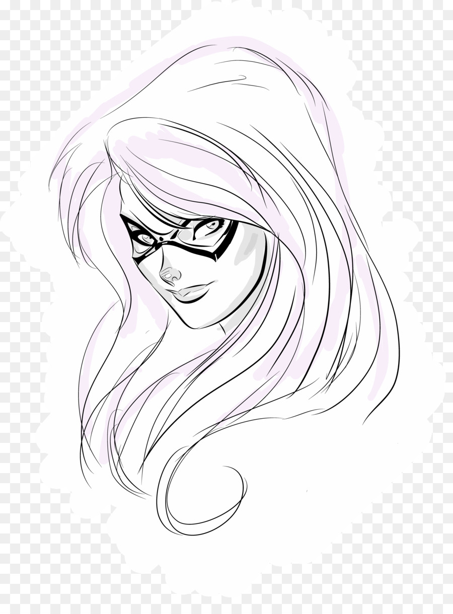 Sketch Eye Illustration Drawing Line Art Bratz Doll Png Download