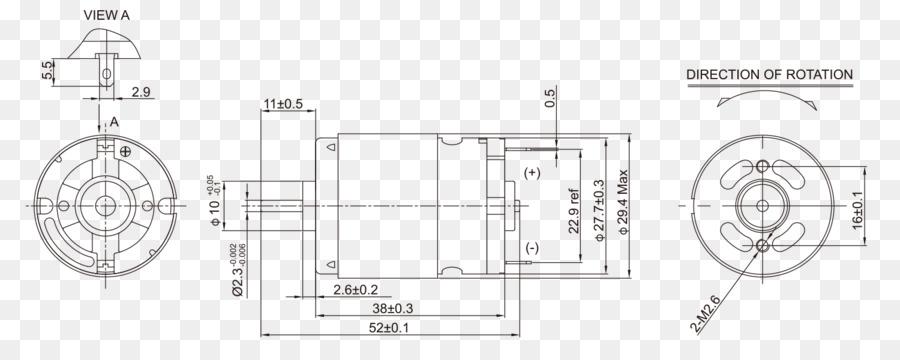Brushed Dc Electric Motor Dc Motor Engine Direct Current Engine