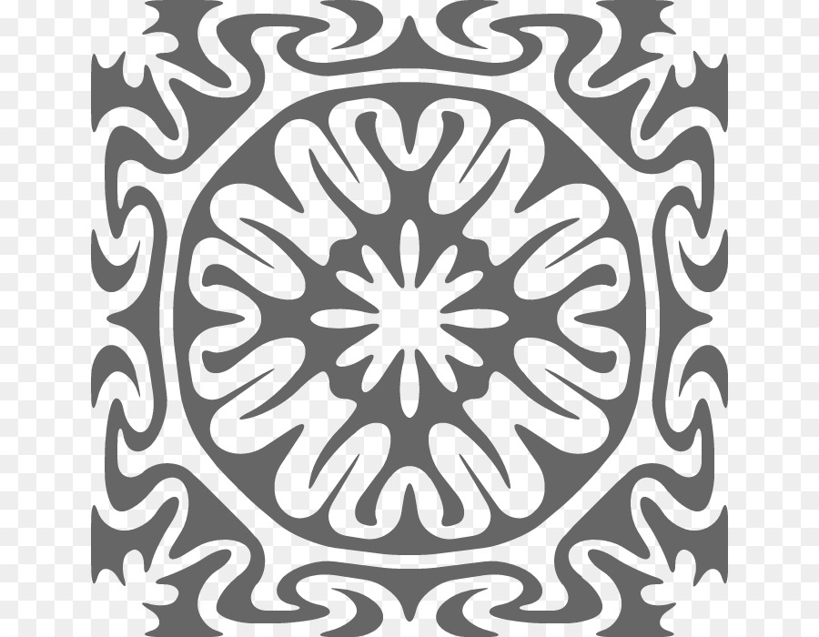 Kaleidoscope Coloring Pages Free Printable Downloa