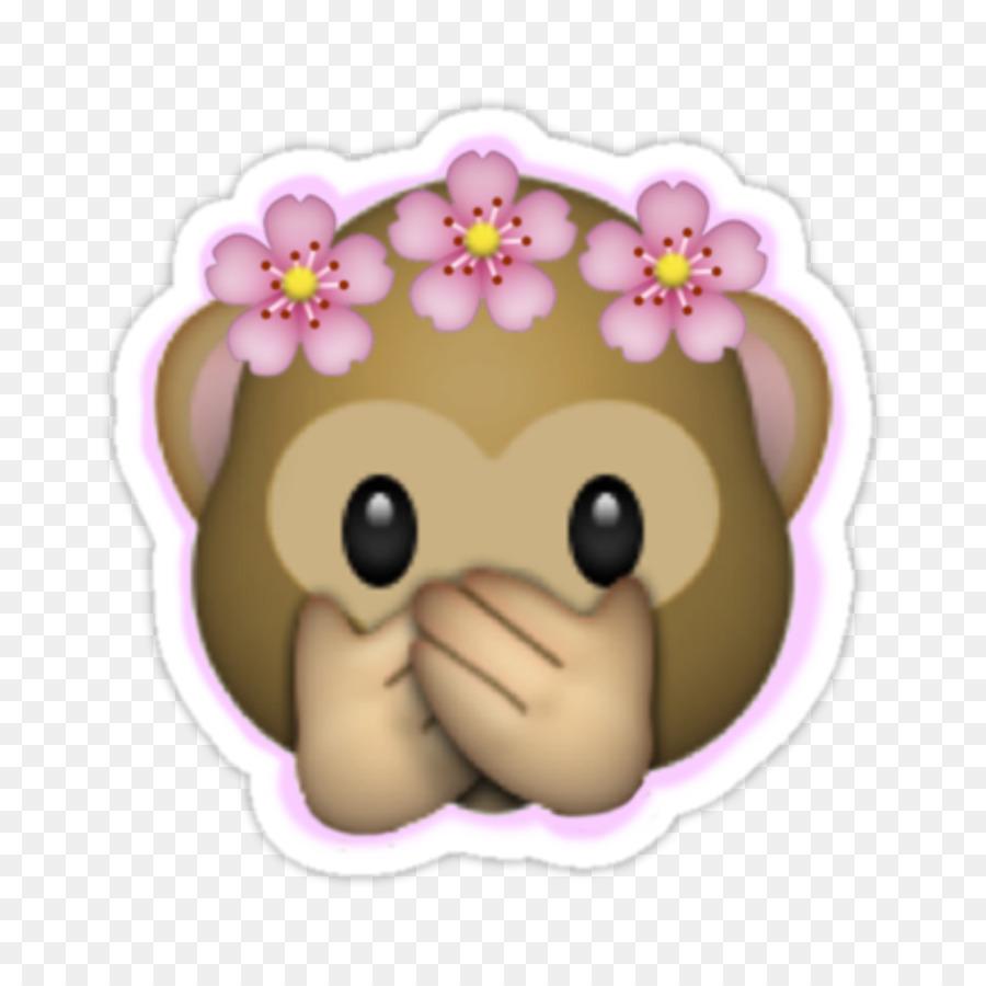 Emoji Sticker Image Crown Flower Emoji Png Download 11251125