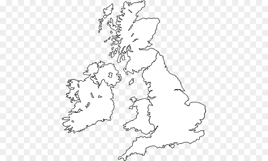 Britain Blank Map map png download   485*540   Free Transparent Great Britain png