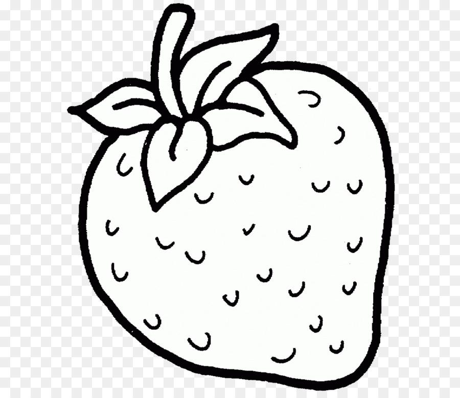 Strawberry Buku Mewarnai Shortcake Anak Buah Stroberi Unduh