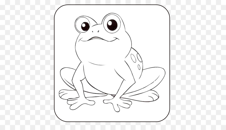 Tree Frog Coloring Book Cute Colouring Pages