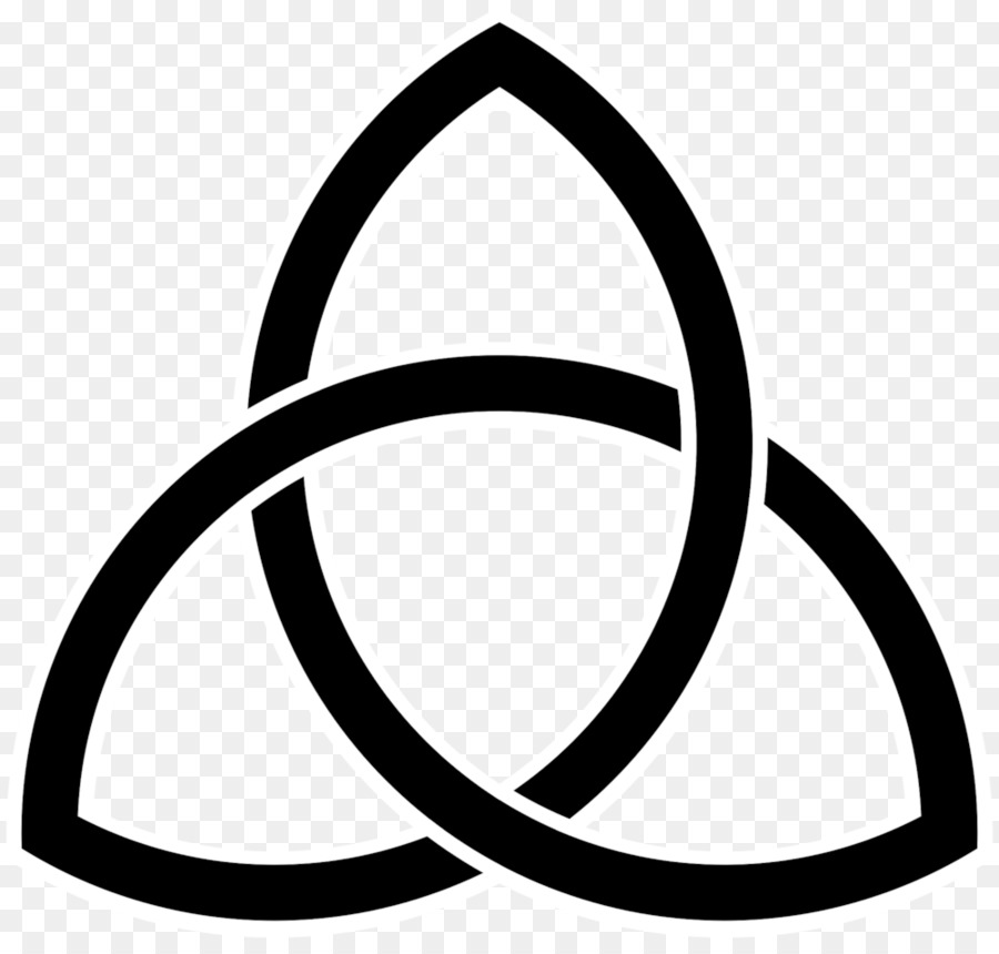 Celtic Knot Triquetra Symbol Meaning Image Symbol Png Download