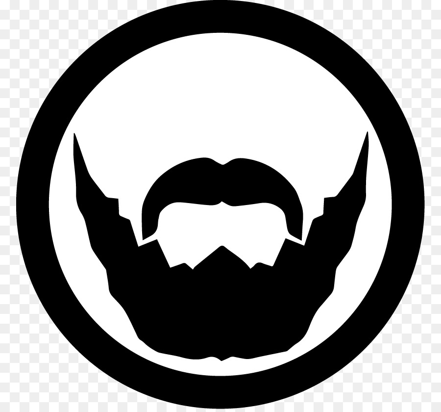 Beard face. Logo png download free