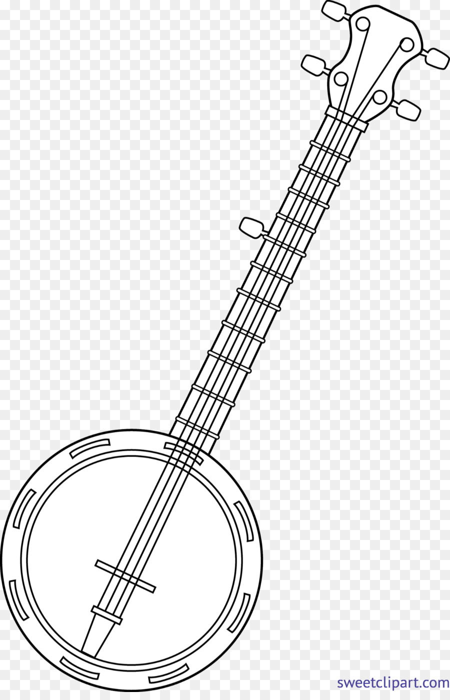 banjo colouring pages clip art coloring book string instruments musical instruments