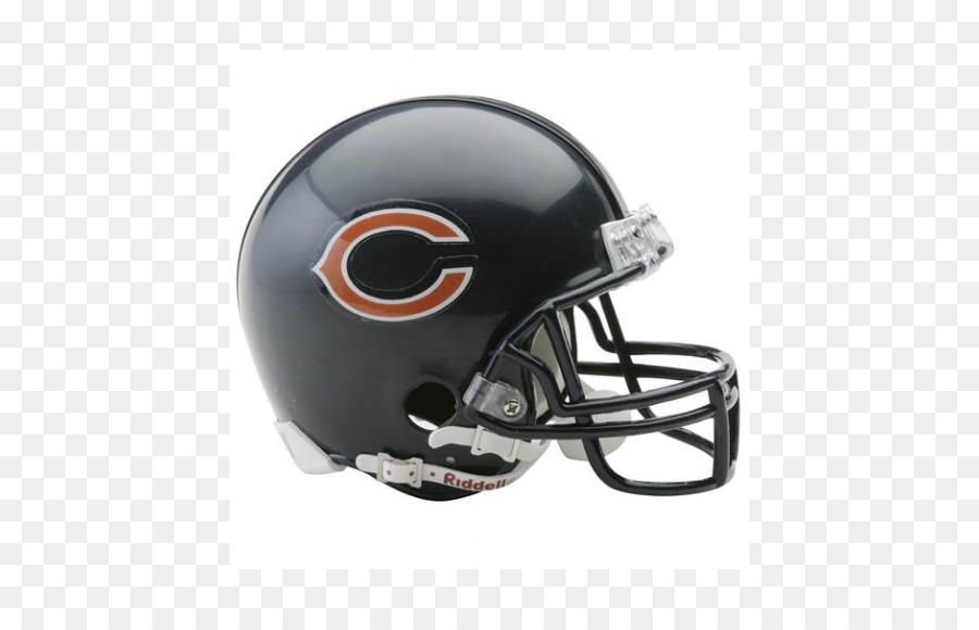 6043d228fa074 Chicago Bears NFL Carolina Panthers Capacetes de Futebol Americano -  chicago bears