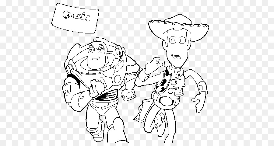 Toy Story Buzz Lightyear Coloring Pages
