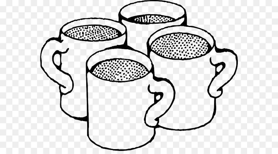 chocolate quente xícara de café clip art livro de colorir café