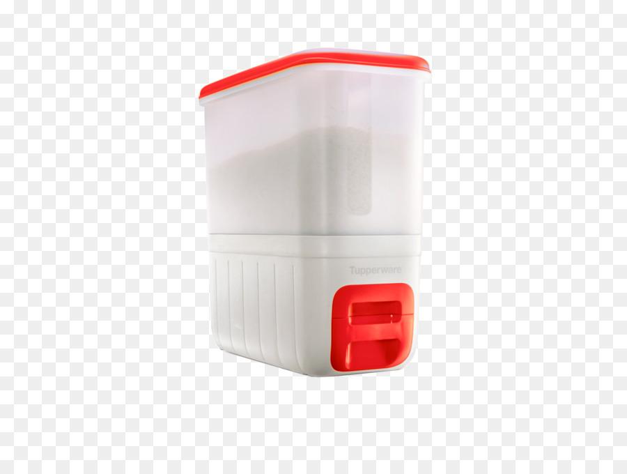 Tupperware Smart Plastic Rice Dispenser Container Tupperware Smart Plastic Rice  Dispenser Container Box Product   Box
