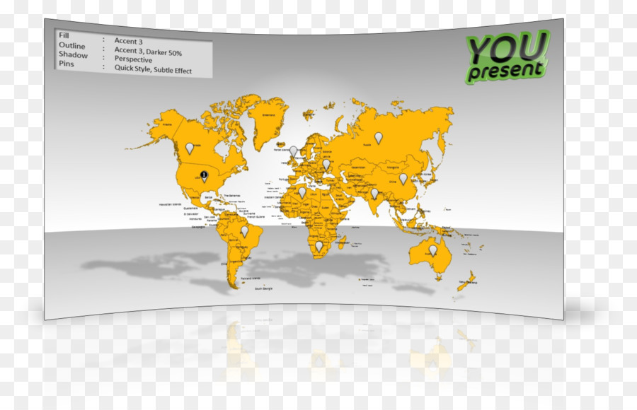 World map United States of America Topographic map Microsoft ...