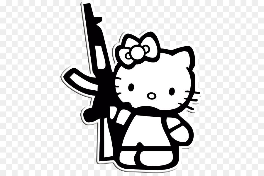 Hello Kitty Colorear Páginas para Colorear Gato de la Imagen - gato ...