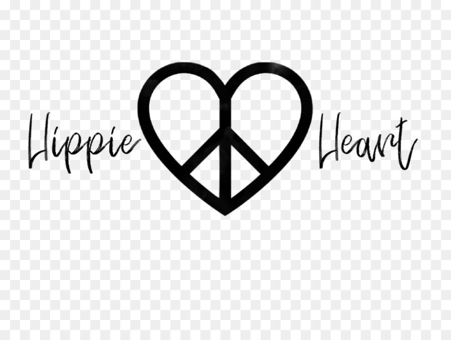 Hippie Peace Symbols Love Logo Decal Symbol Png Download 1000