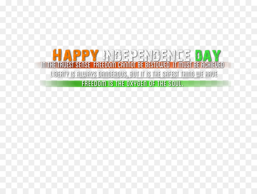 Logo Font Brand Green Line - independence day india png