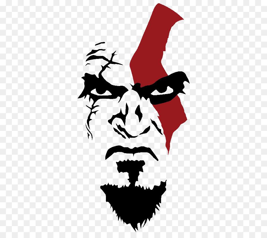 God Of War Omega Collection T Shirt Stencil Kratos God Of War Png