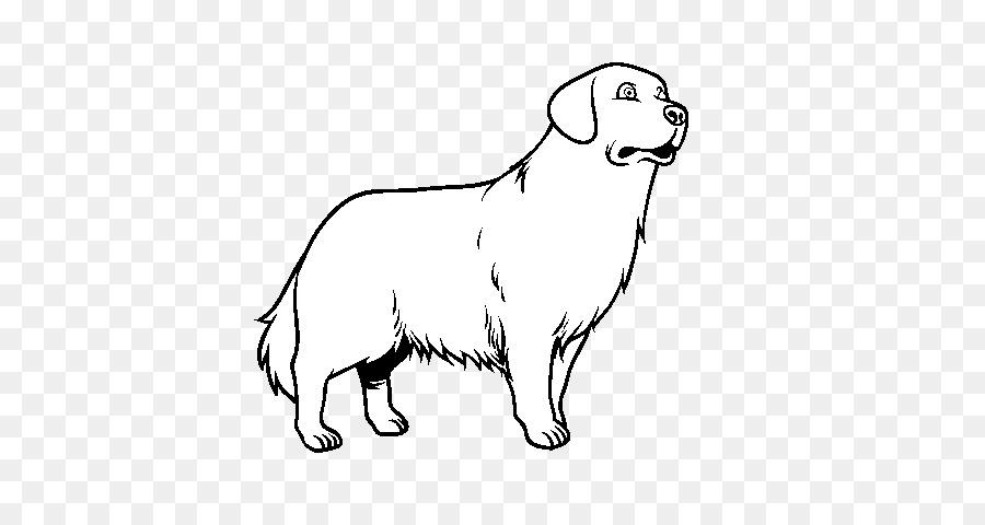 Golden Retriever Cachorro libro para Colorear, Páginas para Colorear ...