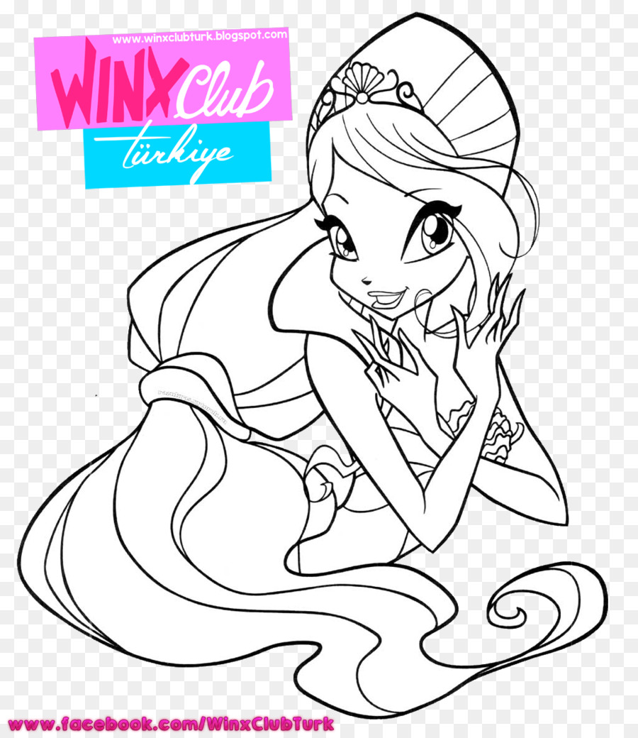 Finger Line Art Human Illustration Cartoon Bloom Winx Season 7 Png