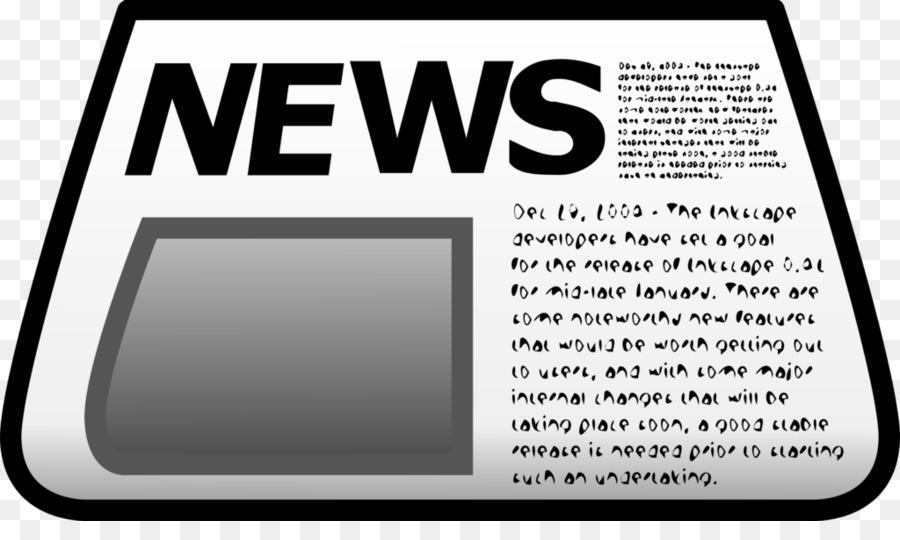Clip Art Newspaper Image Vector Graphics Headline