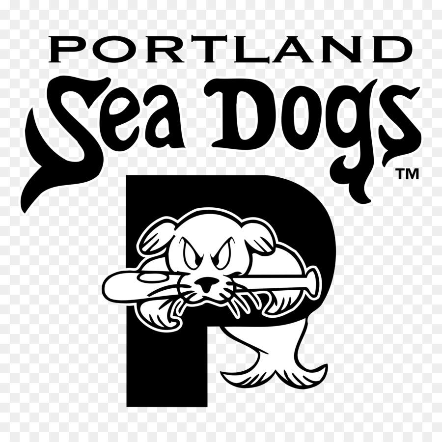 Portland Sea Dogs Clip Art Logo Vector Graphics Drawing