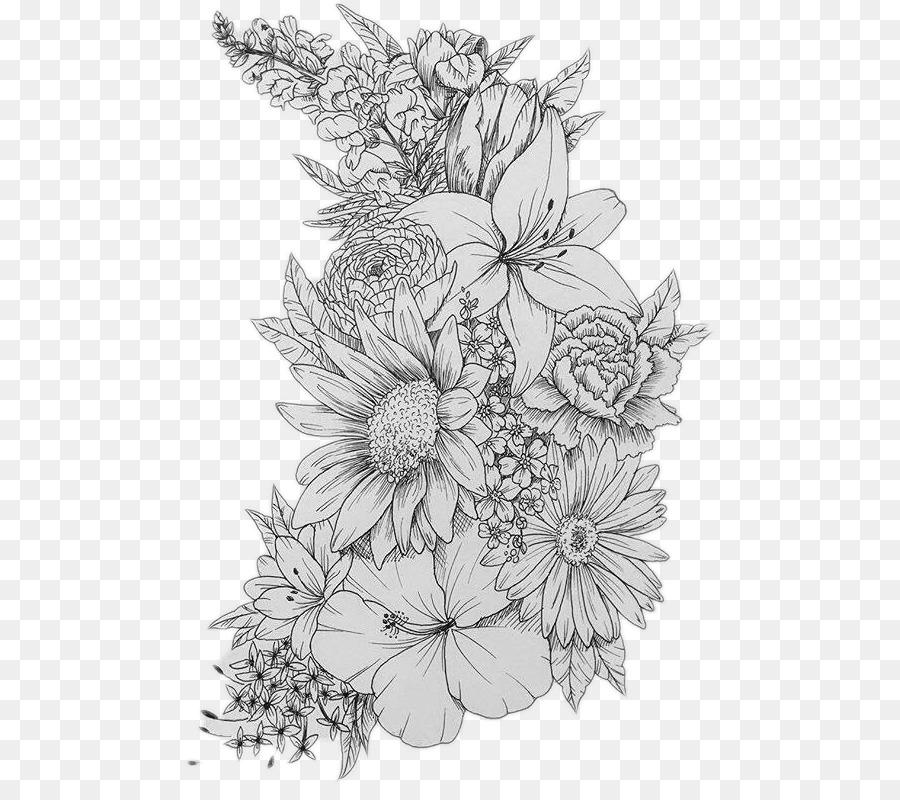 Sleeve tattoo flower design flash flower png download 532784 sleeve tattoo flower design flash flower mightylinksfo