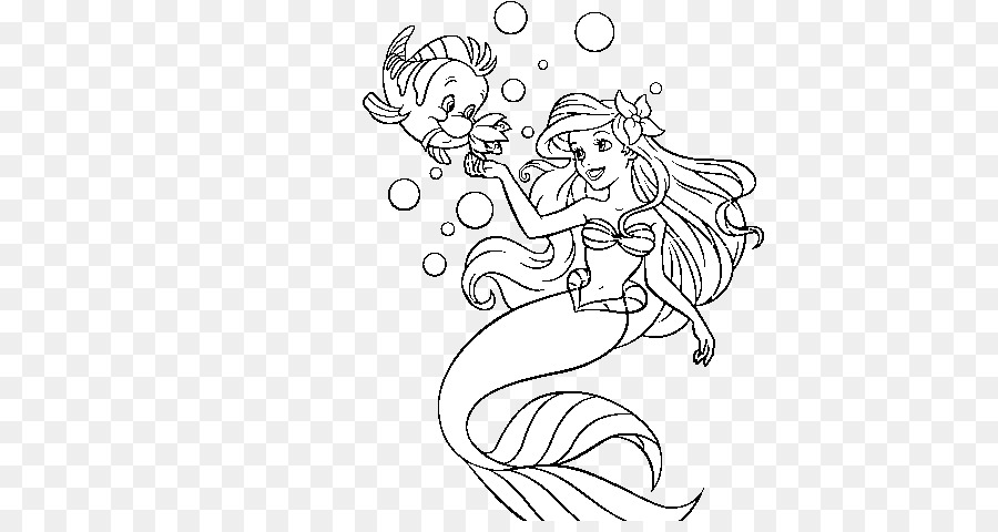 Coloriage Queue De Sirene.Ariel Sebastian Livre De Coloriage La Petite Sirene Le Roi Triton